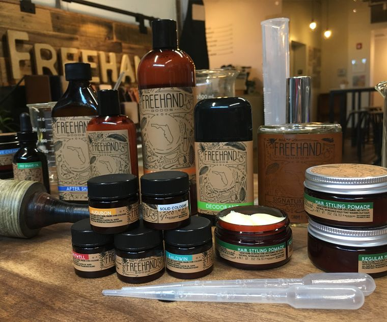 All Natural Men's Grooming Goods