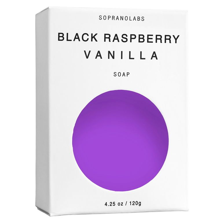 Black Raspberry Vanilla Vegan Soap.