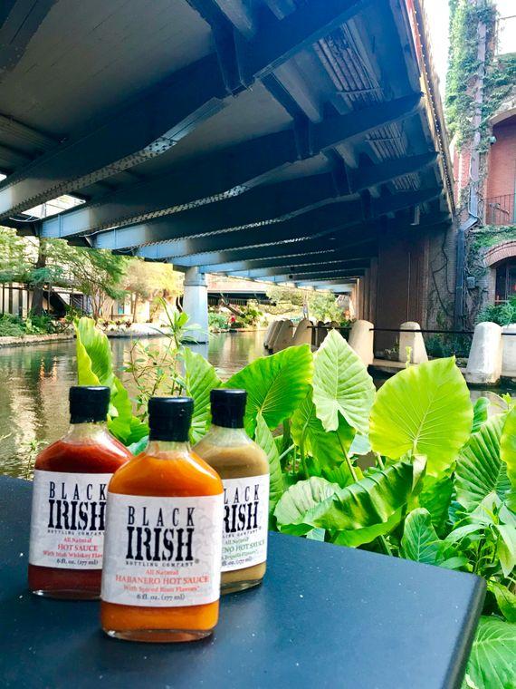 Black Irish Hot sauces