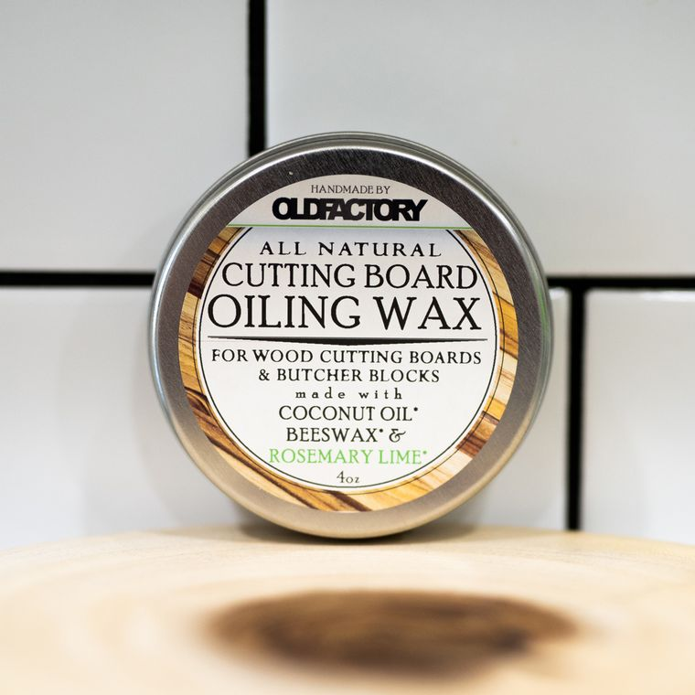 Natural Cutting Board Seasoning Wax - Rosemary & Lime