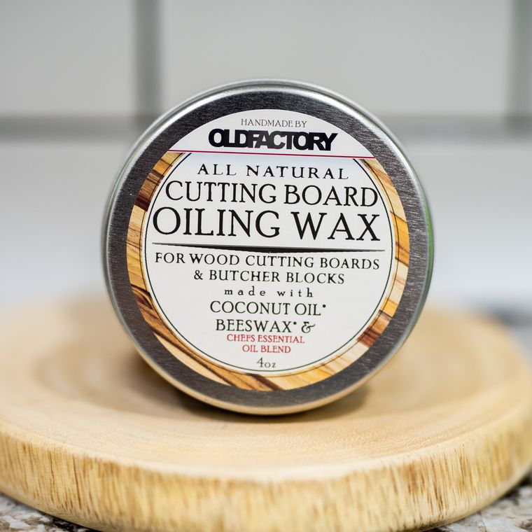 Natural Cutting Board Seasoning Wax - Chefs Essential Oil Blend