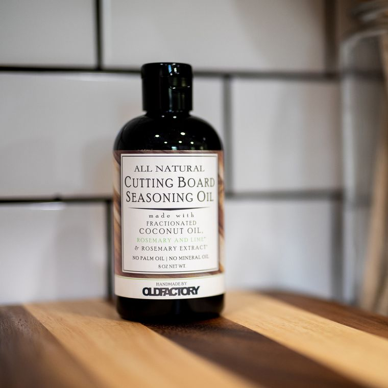 Natural Cutting Board Oil - Rosemary Lime