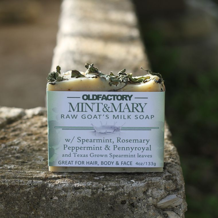 Mint & Mary Goats Milk Soap