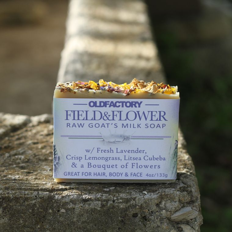 Field & Flower Goats Milk Soap
