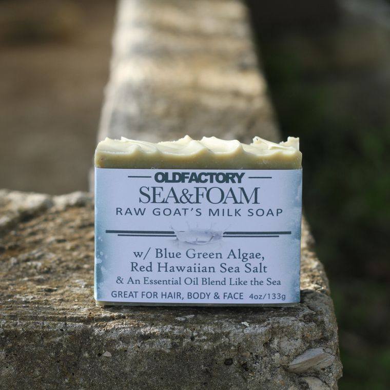 Sea & Foam Goats Milk Soap