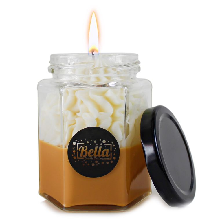 Brown Dolce: Chocolate Scented dessert jar candle