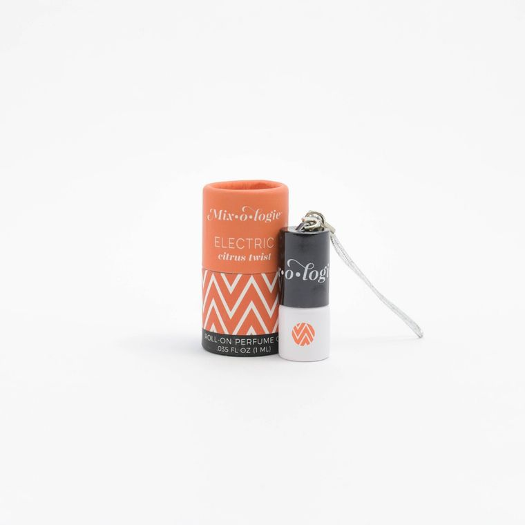 Electric 1 mL Keychain Mini Roll-On Perfume