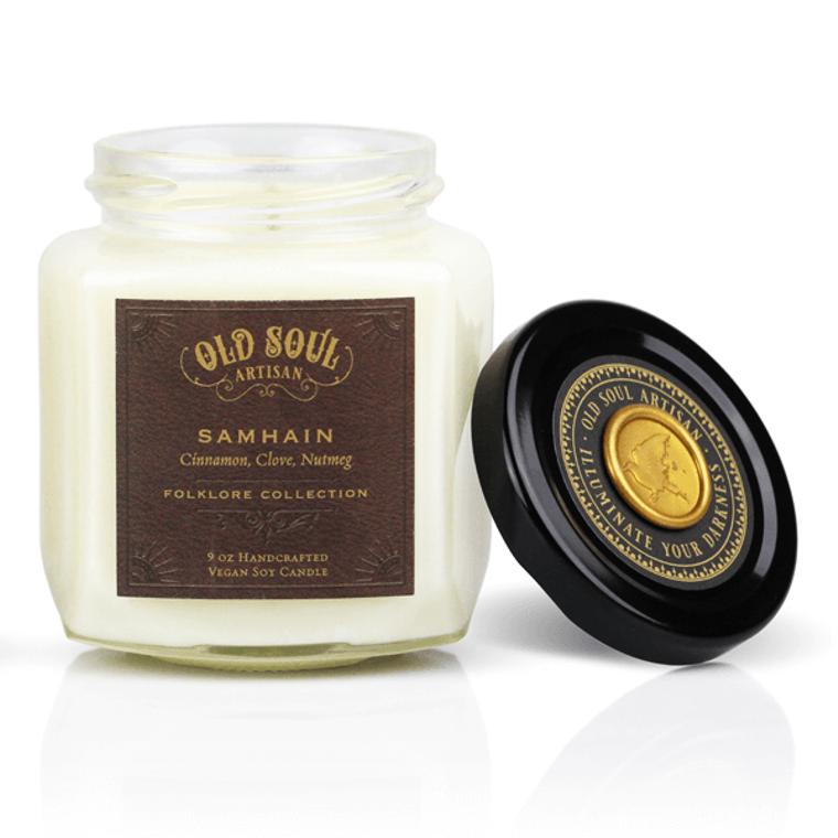 Samhain - 9 ounce soy candle - Halloween Bestseller