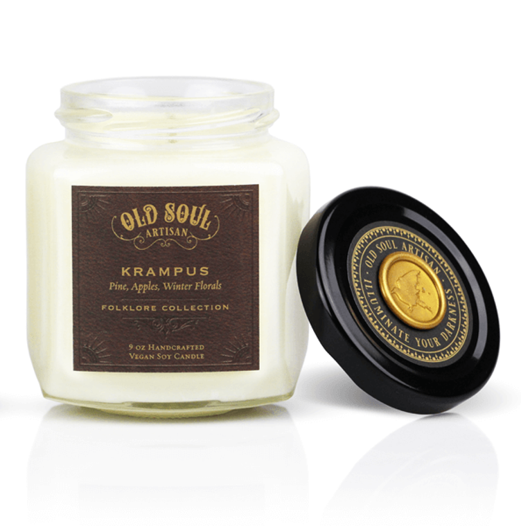 Krampus - 9 ounce soy candle - Christmas Holiday Bestseller