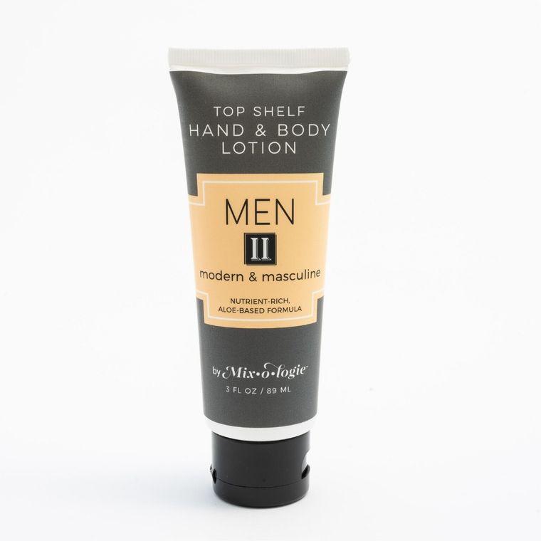 Mixologie for Men Lotion II - Modern & Masculine (3 oz)