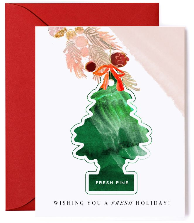 Fresh Holiday - Christmas Tree Air Freshener Card