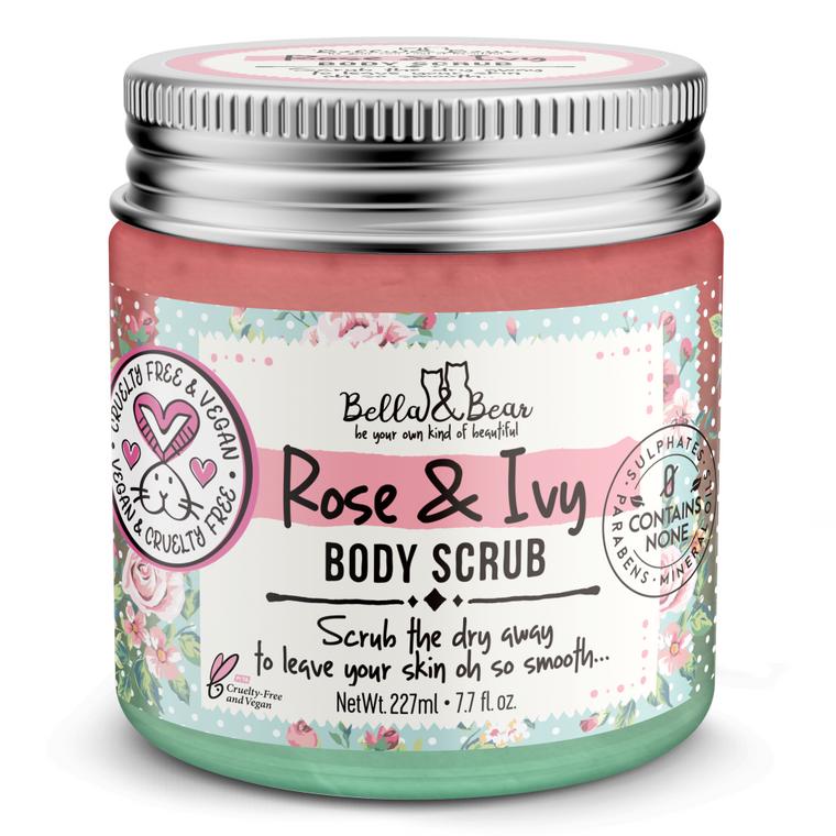 Rose & Ivy Body Scrub 7oz