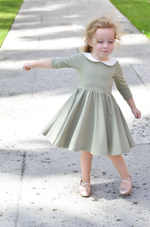 The Rubina Dress in Eucalyptus