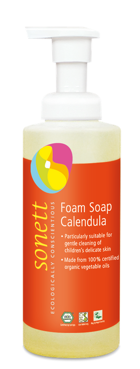 Sonett Eco Calendula Foam soap for Children 200 ml / 6.8 fl oz