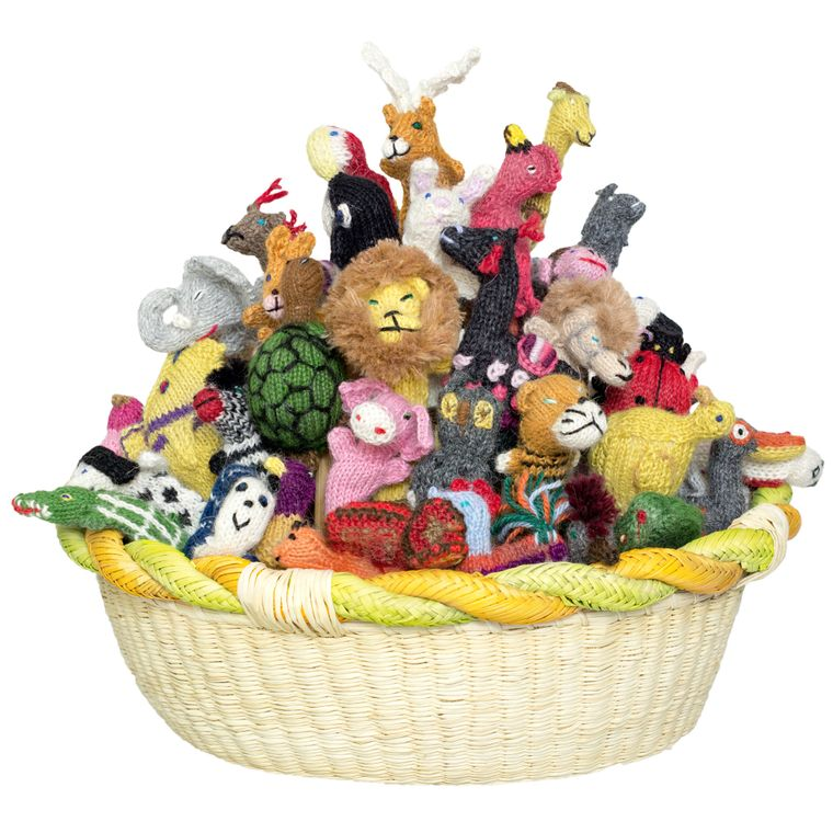 Alpaca Animal Mix Finger Puppets (sold in 100's)