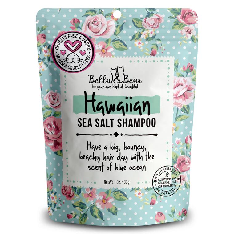 1oz Travel Size Hawaiian Sea Salt Shampoo
