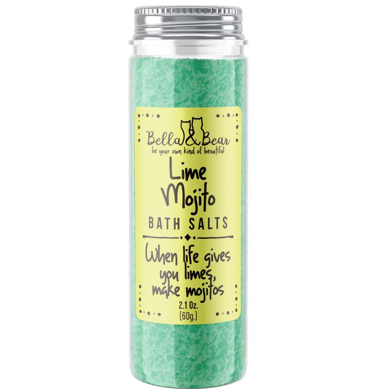 2oz Fruity Bath Salts Lime Mojito