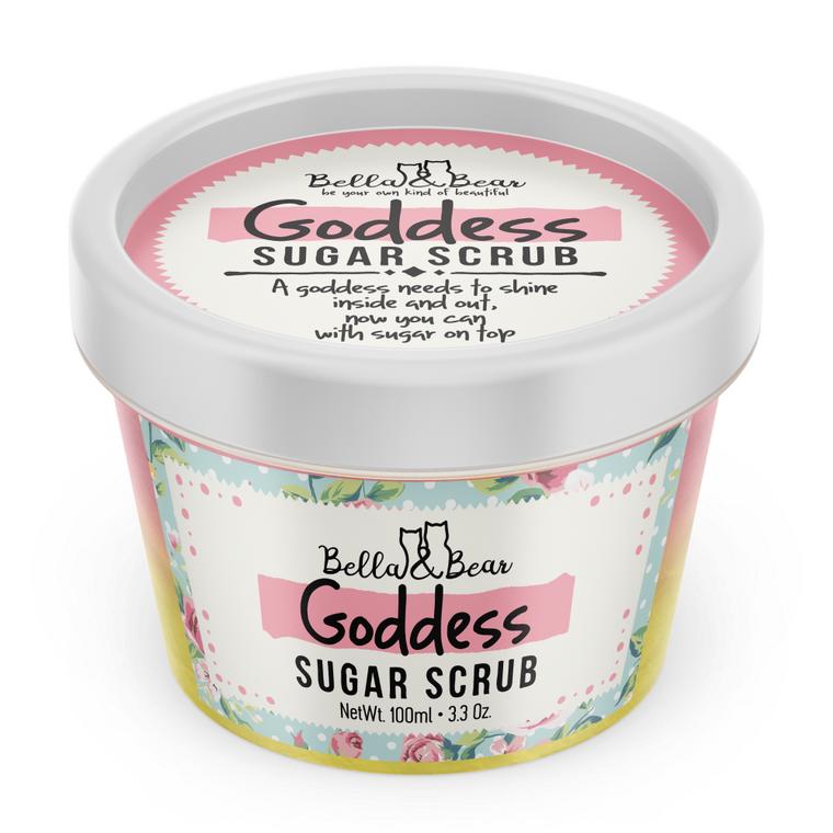 3 oz Goddess Sugar Scrub