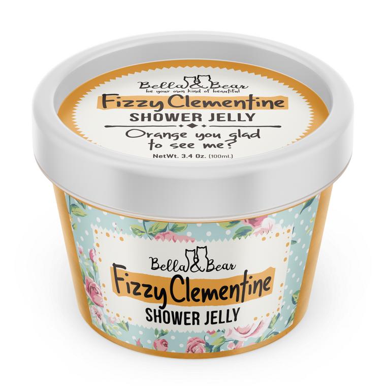 3oz Fizzy Clementine Travel Size Shower Jelly