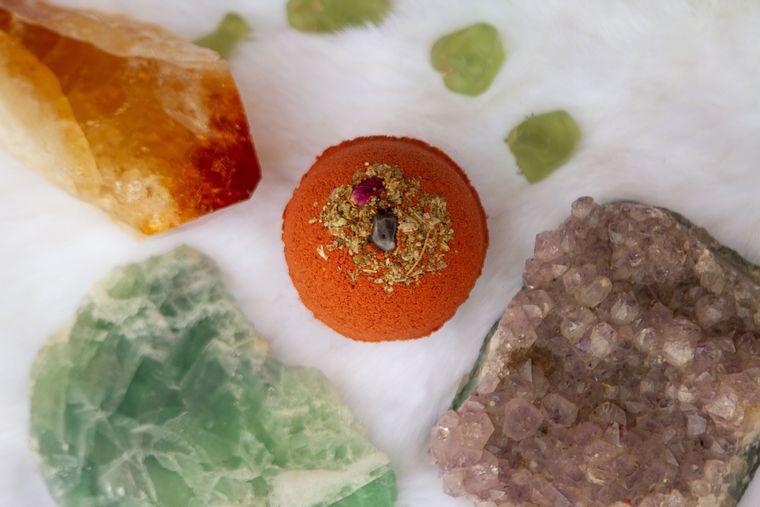 Amethyst & Sage Ritual Bath Bomb