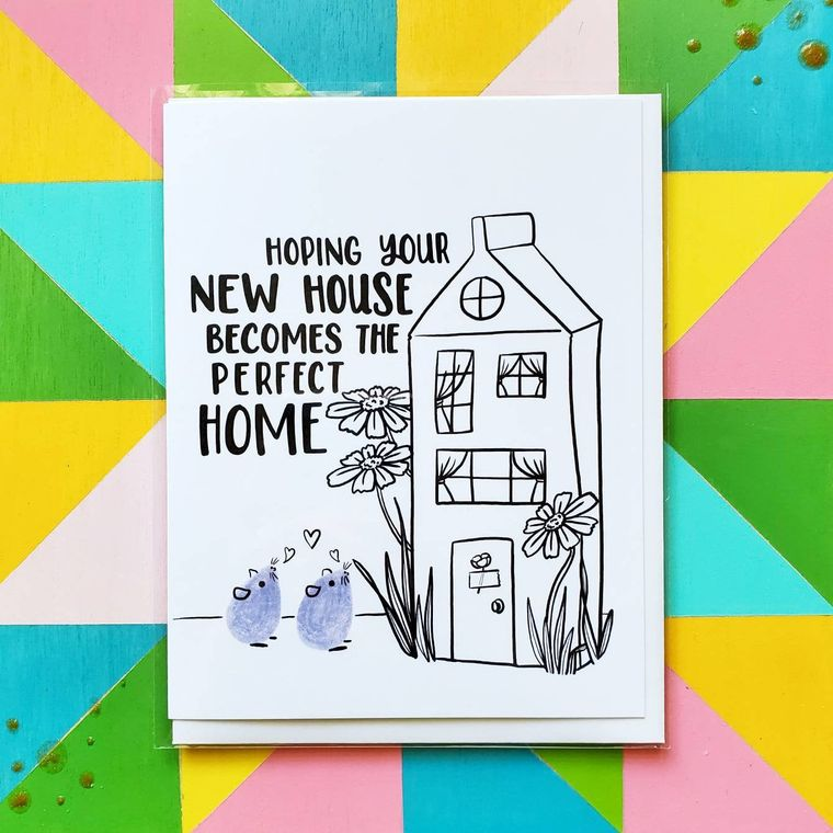 Perfect Home! New House Card