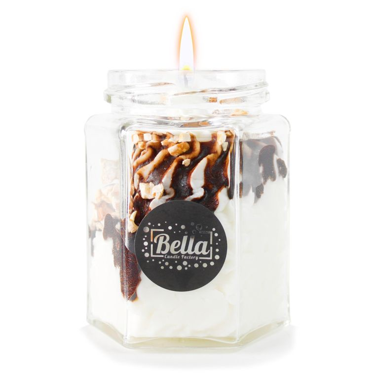Bellisima Dolce: Chocolate Whipped Cream dessert candle