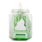Himalayan Bamboo Dolce: Whipped Cream Green candle
