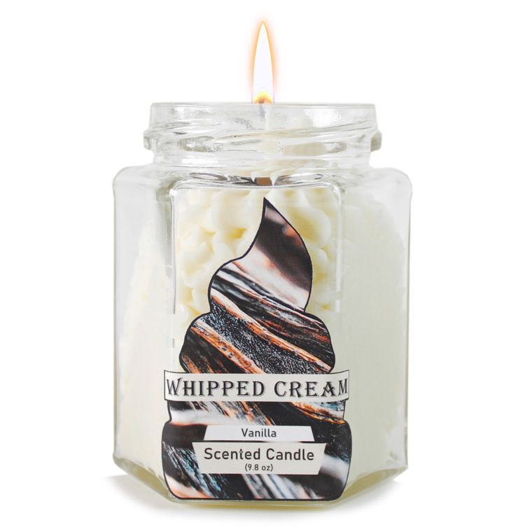 Vanilla Dolce: Whipped Cream candle