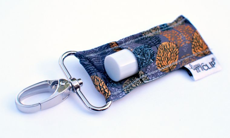 Fall Sunset LippyClip Lip Balm Holder