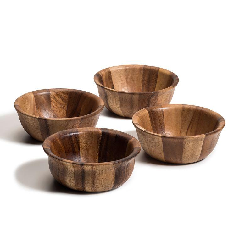 Soro Individual Salad Bowls -set of 4