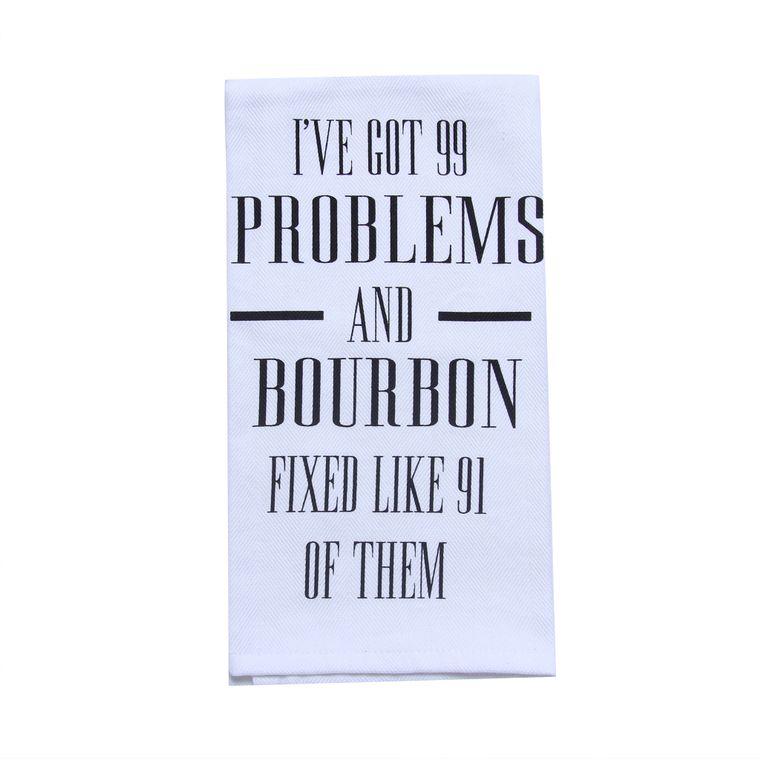 Bourbon Gift - Alcohol Gift - Bar - 99 Problems