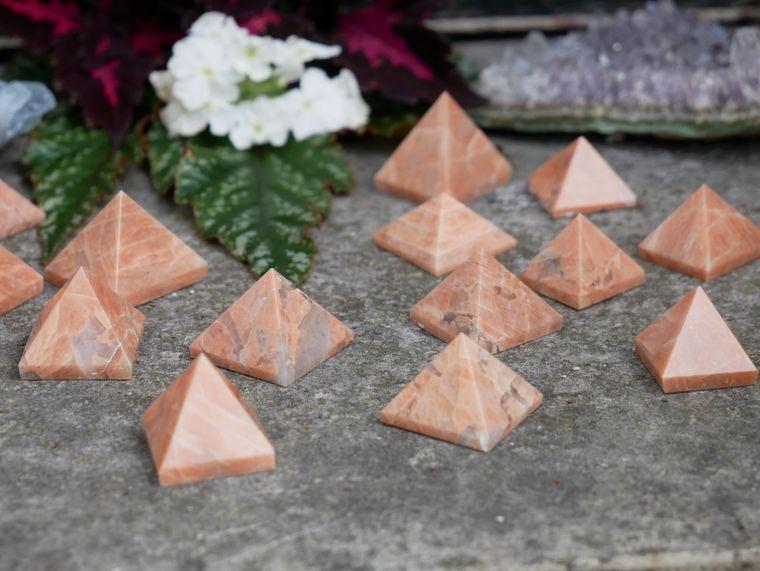 Moonstone Pyramids