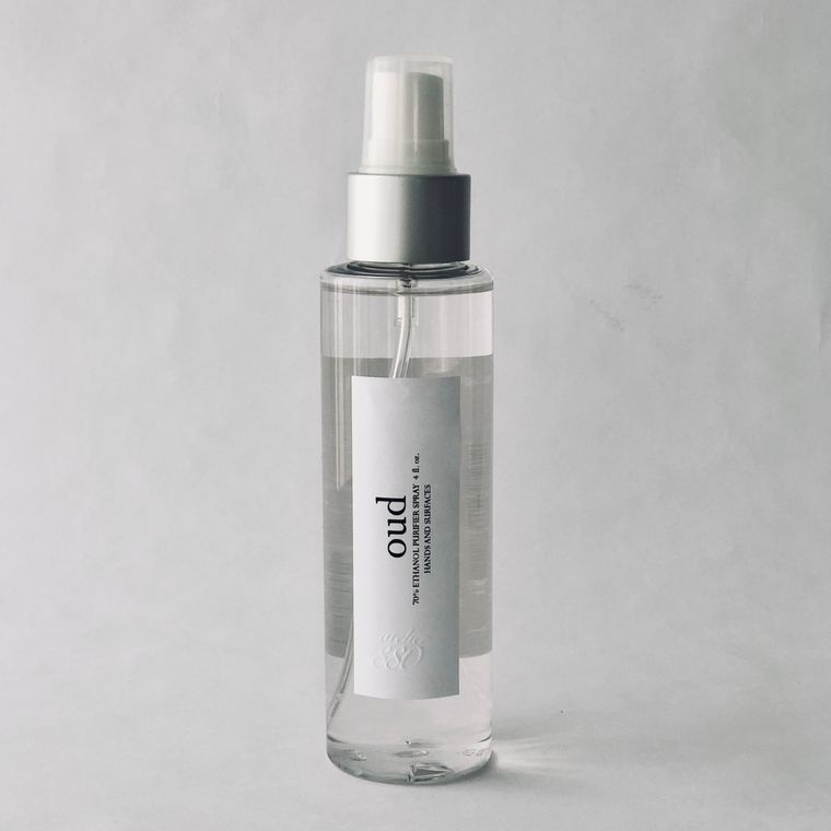 Oud Scented Hand Sanitizer Spray