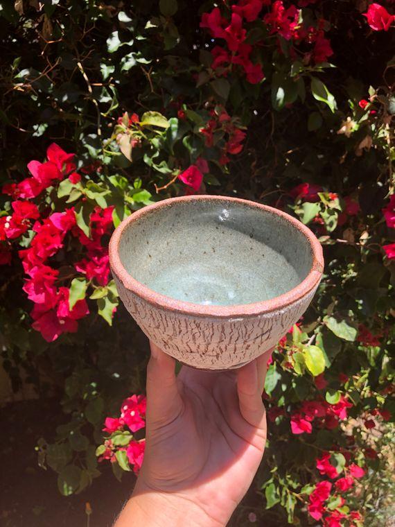 Red & White Porcelain Slip Bowl - Made To Order