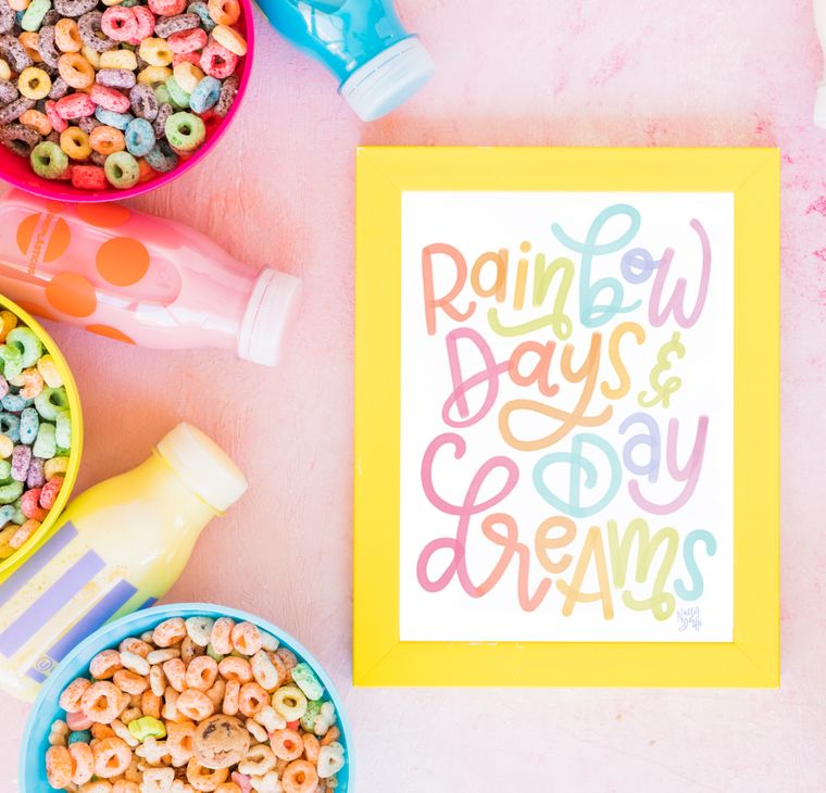 Rainbow Days and Day Dreams