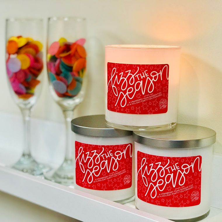 Fizz the Season Candle
