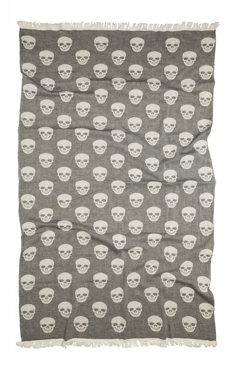 PeshMETAL Skulls Towel