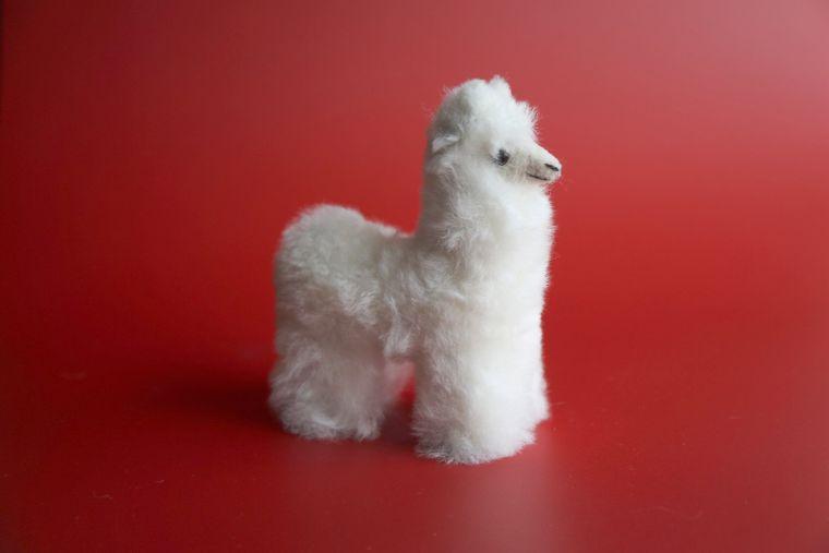 Alpaca Stuffed Llama Small