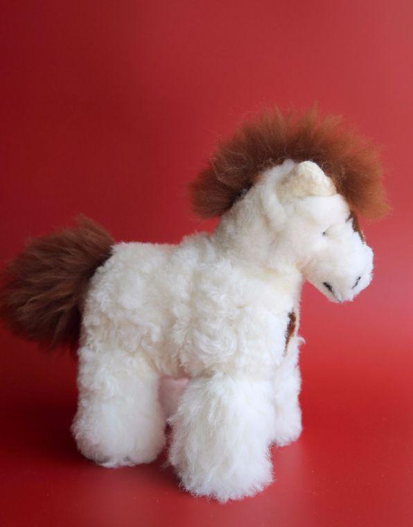 Alpaca Stuffed Horse