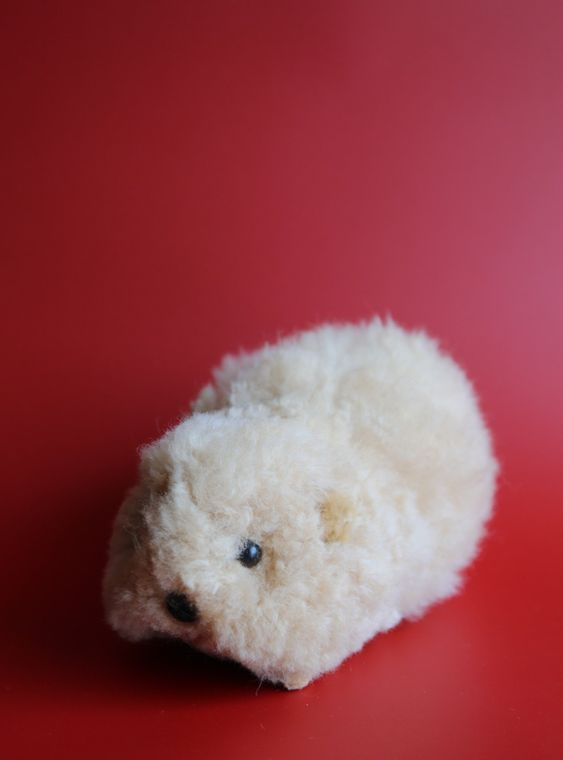 Alpaca Stuffed Guinea Pig Large