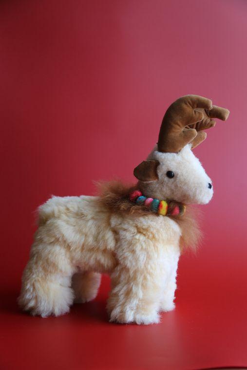 Alpaca Stuffed Reindeer