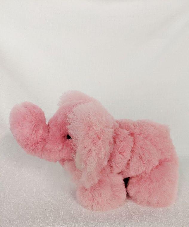 Alpaca Elephant Pink