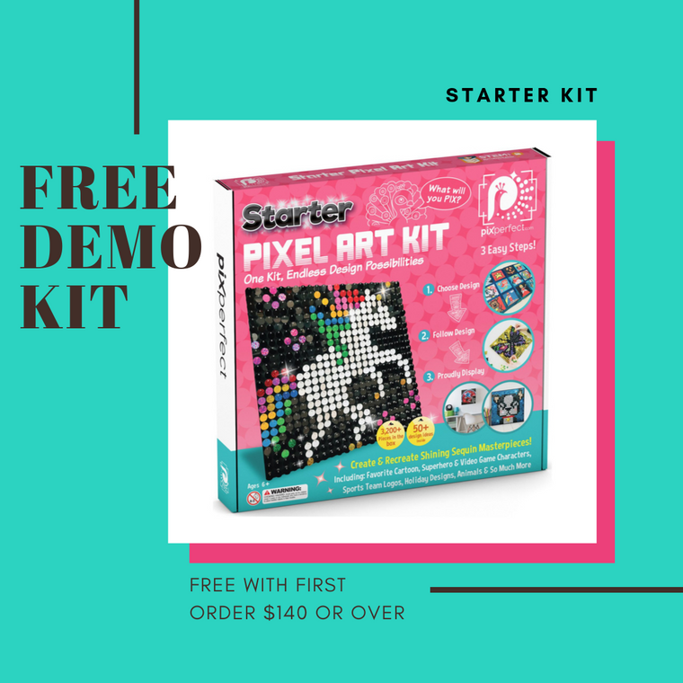 Free Demo Kit w/ 1st Order of $140 or More