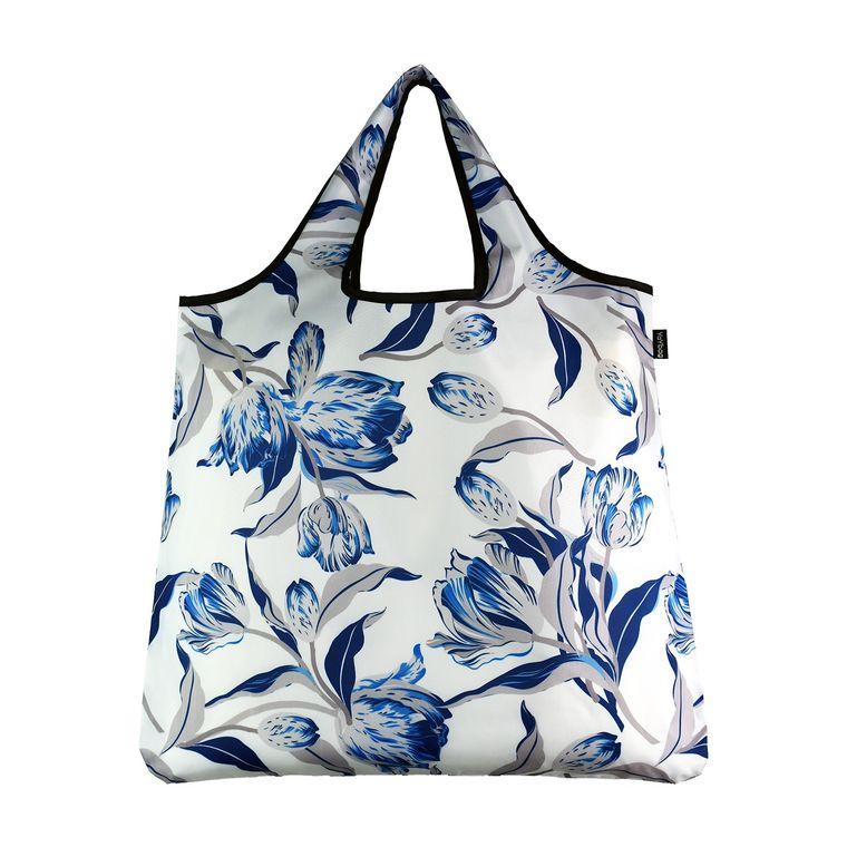 YaYbag ORIGINAL Stylish Reusable Bag - Blue Tulip
