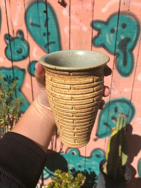 Patterned Flower Vase - Made to Order