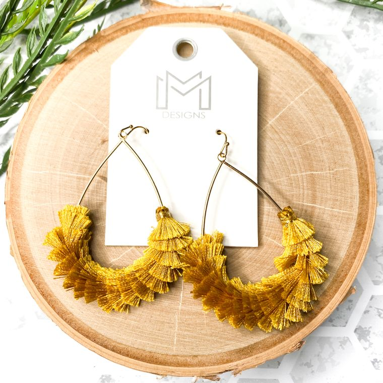 Cha Cha Earrings - Gold