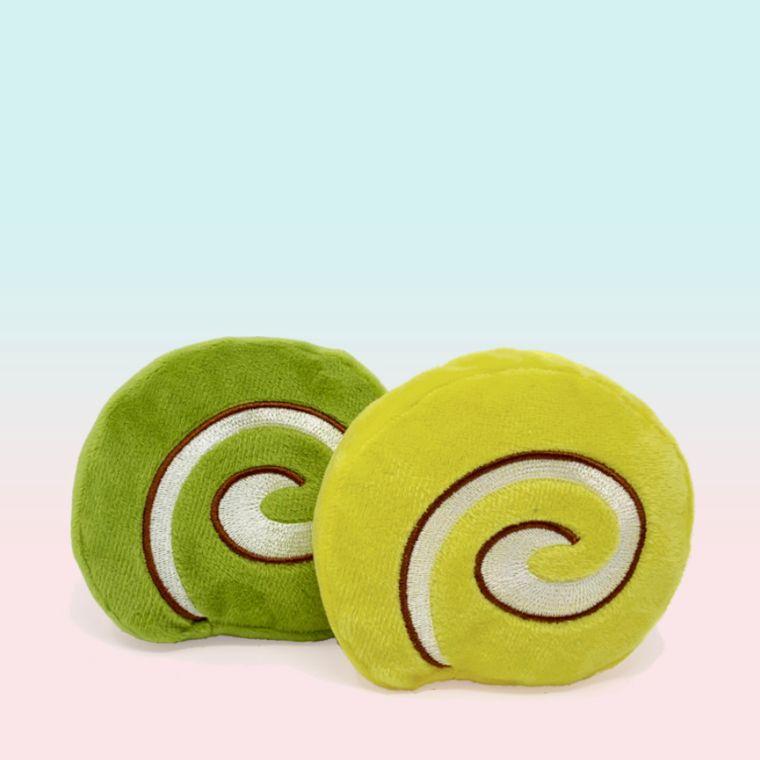 Roll Cakes Organic Catnip Toys (2-pc) Wagashi