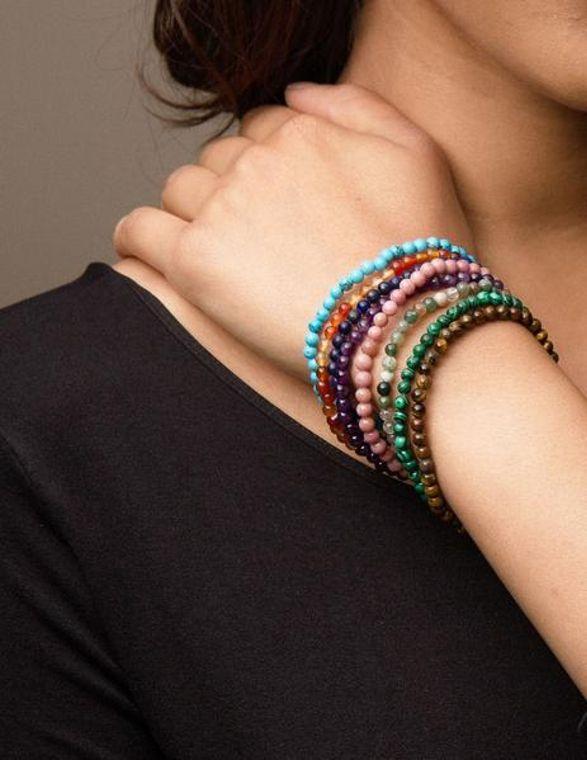 Gemstone Energy Bracelets
