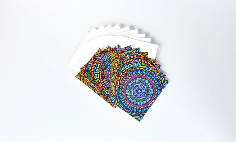 Trippy Thoughts Mini Card Set (Set of 10)