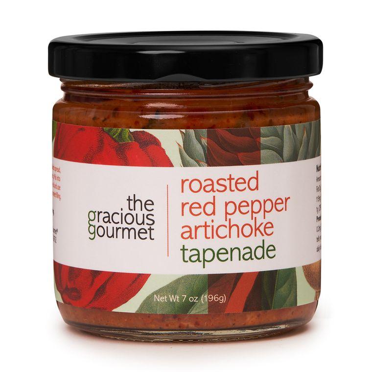 Roasted Red Pepper Artichoke Tapenade